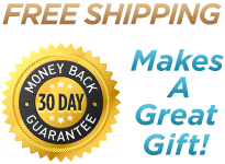 Free Shipping. 30 Day Money Back Guarantee. Makes A Great Gift!